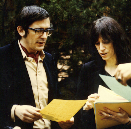 Peter K. Wehrli mit Patti Smith